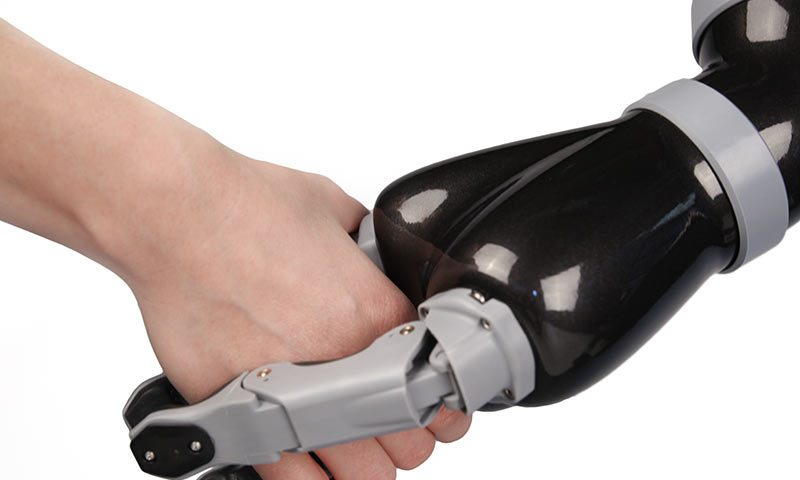 Robotic Arm Controlled by Electrical Impulses Can Help SMA Patients Perform Daily Tasks