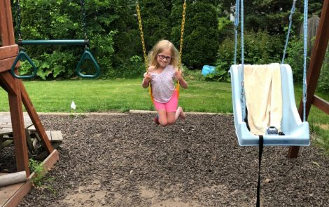 Playground Swing Helps Vestibular System Development