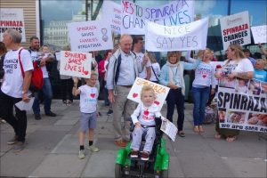 Spinraza-protest