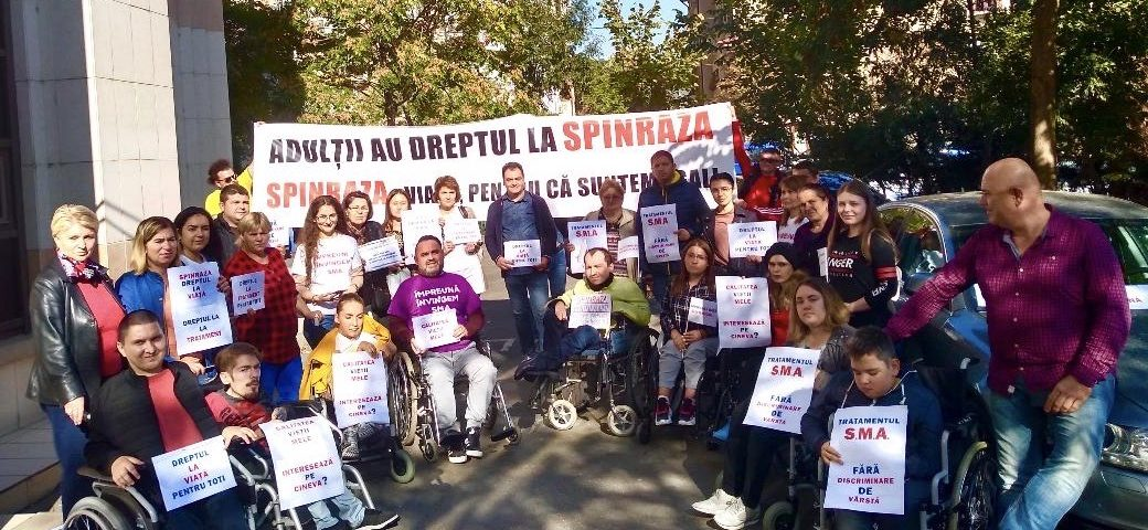 Protest Secures Spinraza for All SMA Patients in Romania