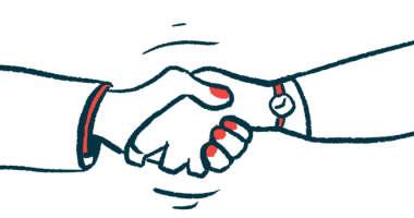 Cure SMA events | SMA News Today | Cytokinetics and Cure SMA partnership | people shaking hands in agreement