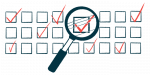 quality of life survey   SMA News Today   illustration of checkboxes with magnifying glass