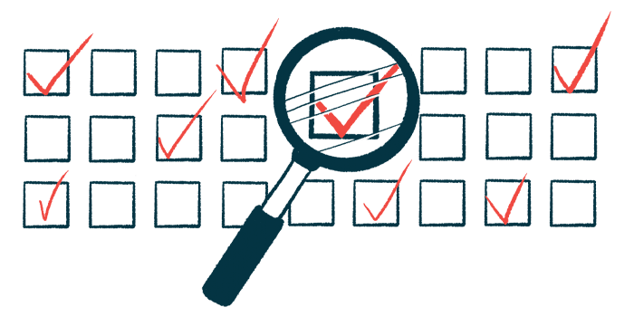 quality of life survey | SMA News Today | illustration of checkboxes with magnifying glass